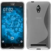 Silikon Hülle Zenfone Go (ZC500TG) S-Style clear