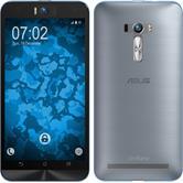 Silikon Hülle Zenfone Selfie 360° Fullbody hellblau Case