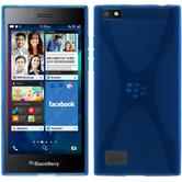 Silikon Hülle Leap X-Style blau Case