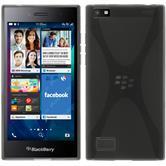 Silikonhülle für BlackBerry Leap X-Style grau