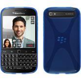 Silikon Hülle Q20 X-Style blau