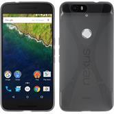 Silikon Hülle Nexus 6P X-Style grau