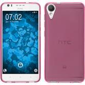 Silikonhülle für HTC Desire 10 Lifestyle transparent pink