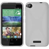 Silikonhülle für HTC Desire 320 X-Style weiß