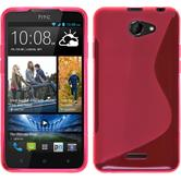 Silikon Hülle Desire 516 S-Style pink