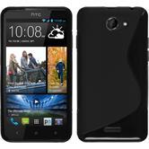 Silikonhülle für HTC Desire 516 S-Style schwarz
