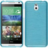 Silicone Case for HTC Desire 610 brushed blue