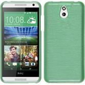 Silicone Case for HTC Desire 610 brushed green