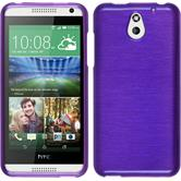 Silicone Case for HTC Desire 610 brushed purple