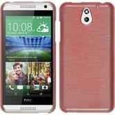 Silicone Case for HTC Desire 610 brushed pink