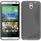 Silicone Case for HTC Desire 610 S-Style gray