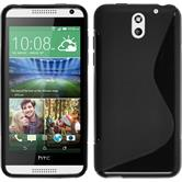 Silicone Case for HTC Desire 610 S-Style black