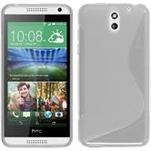 Silicone Case for HTC Desire 610 S-Style transparent
