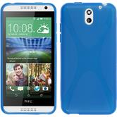 Silicone Case for HTC Desire 610 X-Style blue