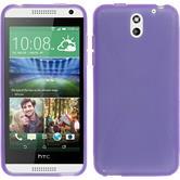 Silicone Case for HTC Desire 610 X-Style purple