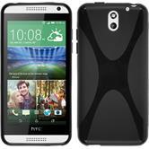 Silikonhülle für HTC Desire 610 X-Style schwarz