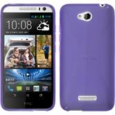 Silicone Case for HTC Desire 616 X-Style purple