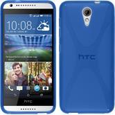 Silikon Hülle Desire 620 X-Style blau
