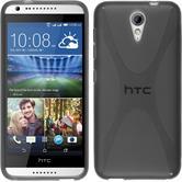 Silikonhülle für HTC Desire 620 X-Style grau