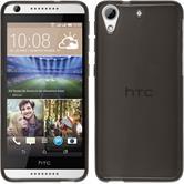 Silikonhülle für HTC Desire 626 transparent schwarz