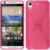 Silikon Hülle Desire 626 X-Style pink