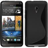 Silicone Case for HTC Desire 700 S-Style black