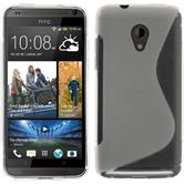Silicone Case for HTC Desire 700 S-Style transparent