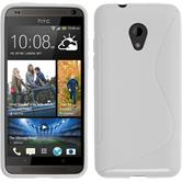 Silicone Case for HTC Desire 700 S-Style white