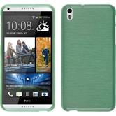 Silicone Case for HTC Desire 816 brushed green