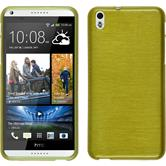 Silicone Case for HTC Desire 816 brushed pastel green