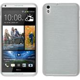 Silicone Case for HTC Desire 816 brushed white