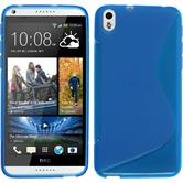 Silicone Case for HTC Desire 816 S-Style blue