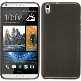 Silicone Case for HTC Desire 816 transparent black
