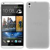 Silicone Case for HTC Desire 816 transparent white