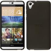 Silikonhülle für HTC Desire 826 transparent schwarz