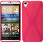 Silikon Hülle Desire 826 X-Style pink Case