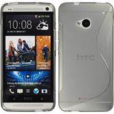 Silicone Case for HTC One S-Style gray