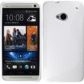 Silicone Case for HTC One S-Style white
