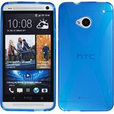 Silicone Case for HTC One X-Style blue