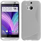 Silicone Case for HTC One M8 S-Style transparent