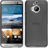 Silikonhülle für HTC One M9 Plus S-Style grau