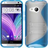 Silicone Case for HTC One Mini 2  blue
