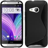 Custodia in Silicone per HTC One Mini 2 S-Style nero