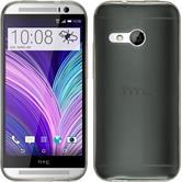 Silikonhülle für HTC One Mini 2 Slimcase grau