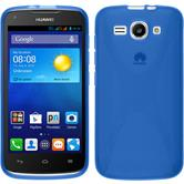 Silikonhülle für Huawei Ascend Y520 X-Style blau