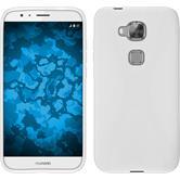 Silikon Hülle G8 X-Style weiß + 2 Schutzfolien