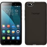 Silikonhülle für Huawei Honor 4x transparent schwarz