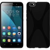 Silikonhülle für Huawei Honor 4x X-Style schwarz