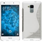 Silikonhülle für Huawei Honor 5C S-Style clear
