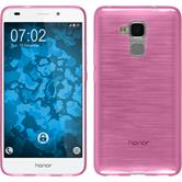 Silikon Hülle Honor 5C transparent rosa
